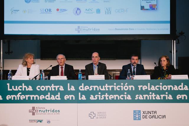 Galicia es pionera en la lucha contra la desnutrición relacionada con la enfermedad