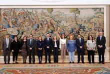 SM la Reina Doña Letizia recibe al Foro Español de Pacientes para tratar la desnutrición relacionada con la enfermedad
