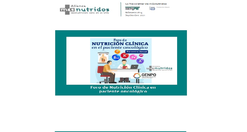 Ya disponible la 24º newsletter másnutridos