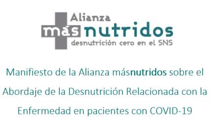 Manifiesto de la Alianza másnutridos sobre el Abordaje de la Desnutrición Relacionada con la Enfermedad en pacientes con COVID-19