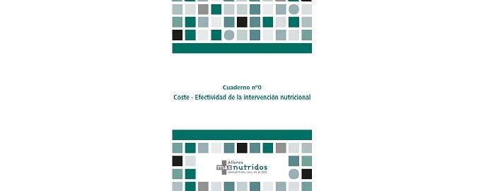 La Alianza másnutridos publica un nuevo monográfico sobre la Coste-Efectividad de la Intervención Nutricional