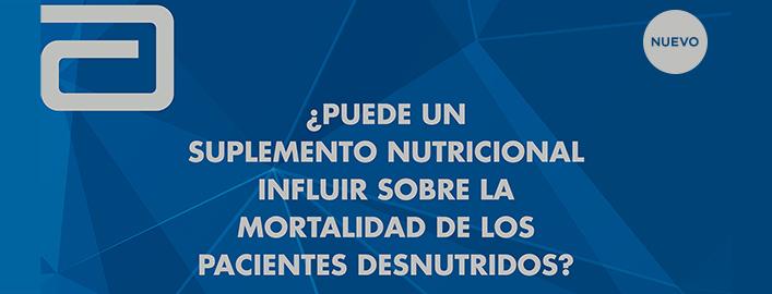 El estudio NOURISH demuestra que un suplemento de nutrición especializado se asocia a una reducción del 50% de la tasa de mortalidad en pacientes mayores de 65 años, desnutridos con enfermedades cardíacas y pulmonares