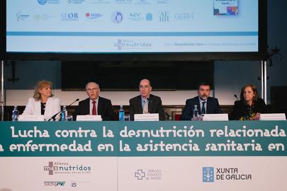 Gran éxito de la jornada Lucha contra la Desnutrición Relacionada con la Enfermedad en la asistencia sanitaria Galicia